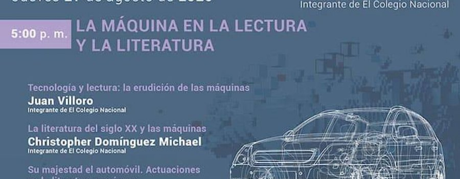 La máquina en la lectura y la literatura