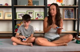 Taller de meditación para niñas y niños