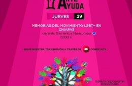 Memorias del movimiento LGBT+ en Chiapas