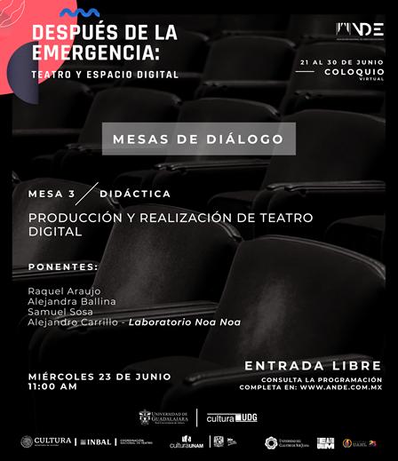 Después de la emergencia: Teatro y Espacio digital