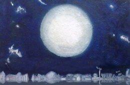 Imágenes oníricas, de la luna a las estrellas