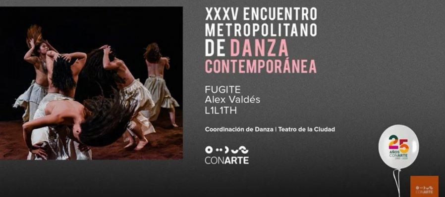L1L1TH con FUGITE en el XXXV Encuentro Metropolitano de Danza Contemporánea