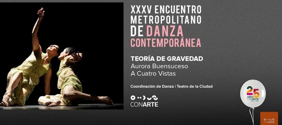 Teoría de Gravedad en el XXXV Encuentro Metropolitano de Danza Contemporánea
