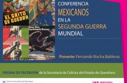 Conferencia: Mexicanos en la segunda guerra mundial