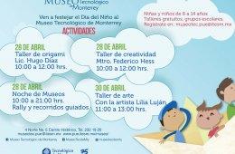 Día del Niño en el Museo Tecnológico de Monterrey