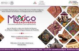 Mexico Megadiverso. Culturas Indigenas Contemporaneas