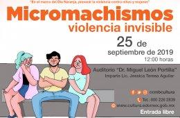 Micromachismos. Violencia invisible