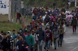 El trayecto de la Caravana Migrante: Caminando pal norte