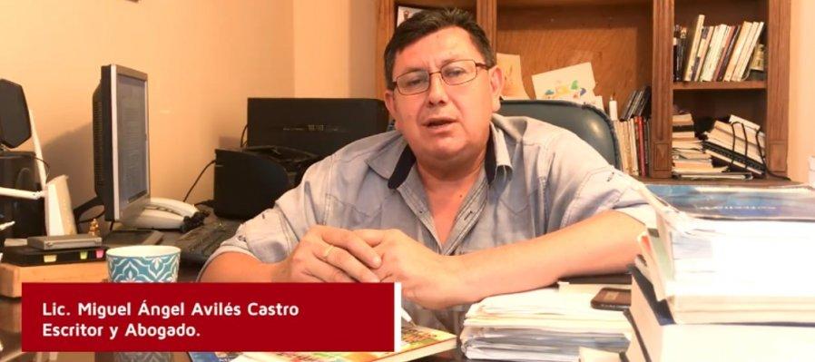 Letras y autores desde casa. Conoce a Miguel Ángel Avilés Castro