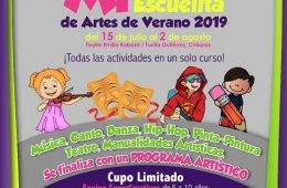 Mi teatro, escuelita de artes de verano 2019