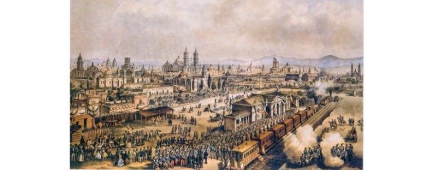 En el andén. Crónica Ignacio Manuel Altamirano