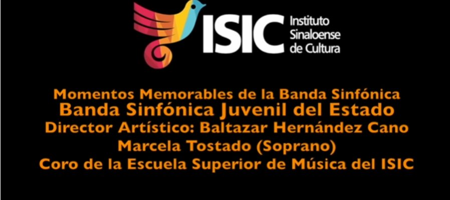 Momentos memorables de la Banda Sinfónica Juvenil del Estado. Interpretación de Habanera