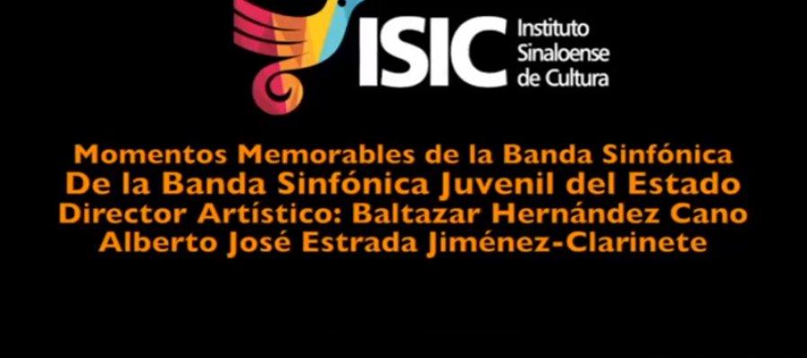 Momentos Memorables de la Banda Sinfónica presenta al clarinetista venezolano Alberto José Estrada Jiménez