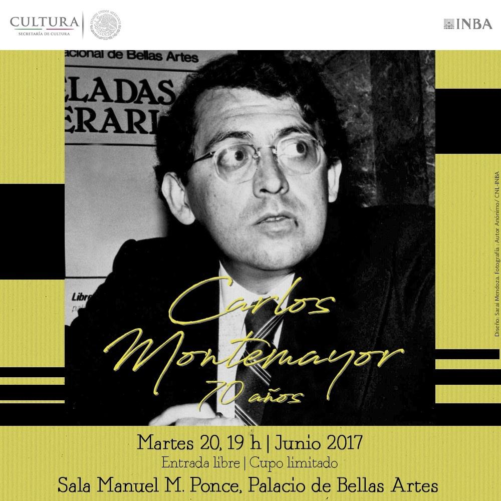 Carlos Montemayor 70 años