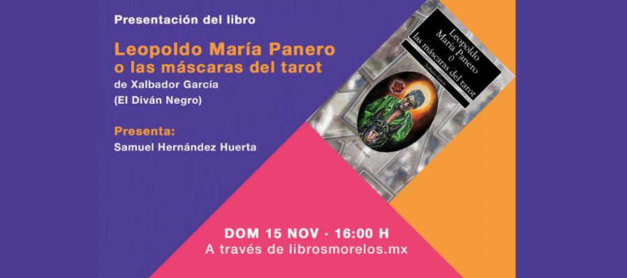 Leopoldo María Panero o las máscaras del tarot, de Xalbador García
