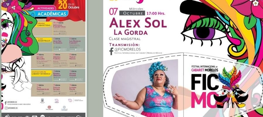 Clase Magistral con Alex Sol, la Gorda