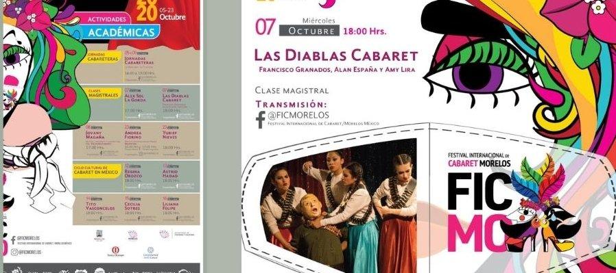 Clase Magistral con Las Diablas Cabaret