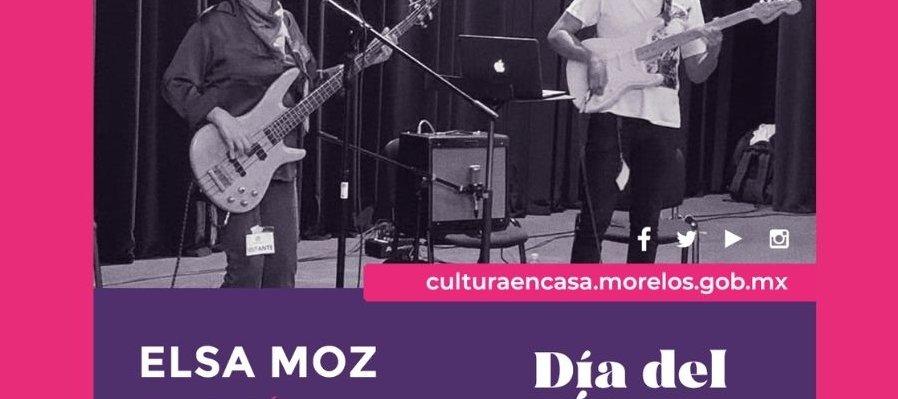 Elsa Moz en concierto