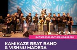 Kamikaze Beat Band & Vishnu Madera en concierto