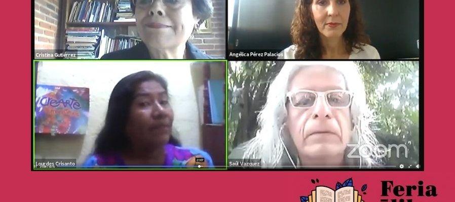 Lectura en comunidad con los mediadores de lectura de Morelos