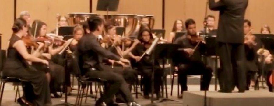 Concierto sinfónico del centro Morelense de las artes