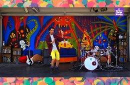 Payasadas rockeras con Perico, el Payaso Loco