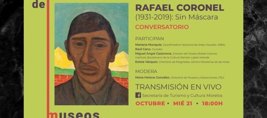 Rafael Coronel (1931-2019): Sin Máscara