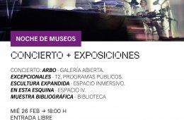 Concierto + Exposiciones