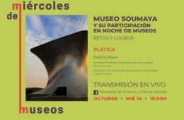 Museo Soumaya y su participación en Noche de Museos