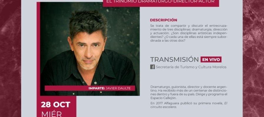 El trinomio dramaturgo-director-actor