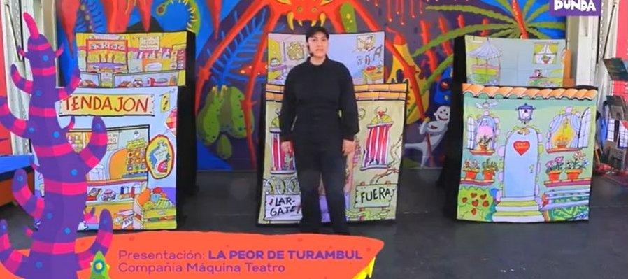 Títeres: La Peor de Turambul con Máquina Teatro