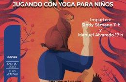 Mover y sentir tu cuerpo: jugando con yoga para niños