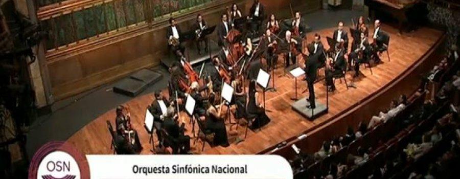 Mozart con David Greilsammer. Orquesta Sinfónica Nacional