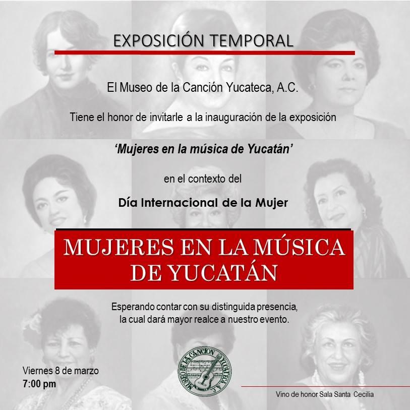 Mujeres en la música de Yucatán