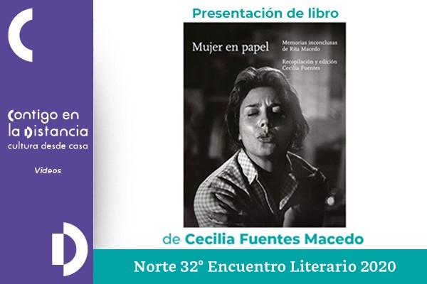 Mujer en papel. Norte 32° Encuentro Literario 2020