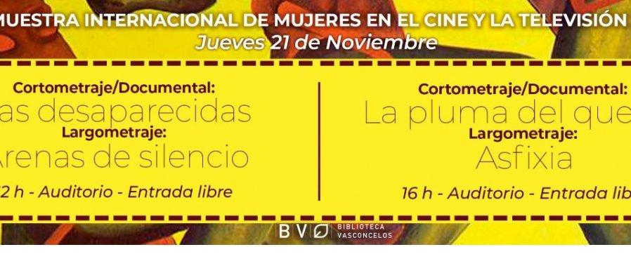 XV Muestra Internacional mujeres en el cine y la televisión 2019
