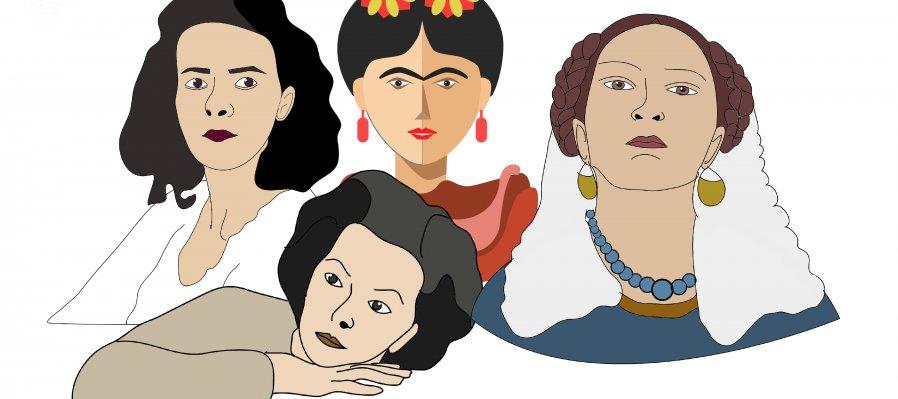 Pintoras surrealistas: María Izquierdo, Frida Kahlo, Remedios Varo y Leonora Carrington