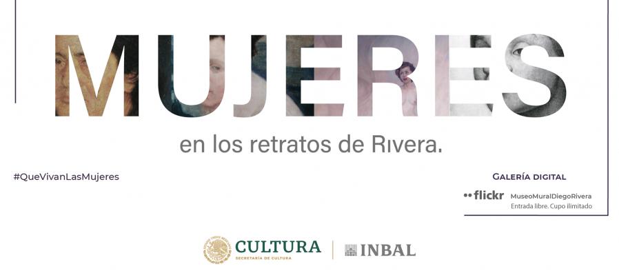 Mujeres en los retratos de Diego Rivera