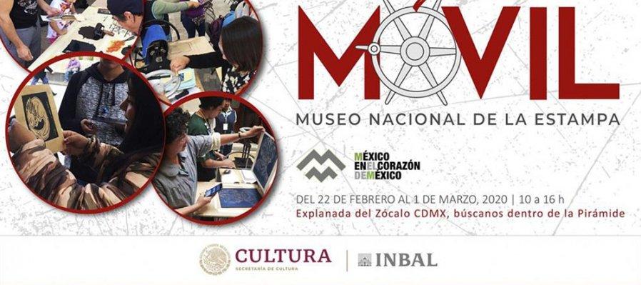 Taller de Gráfica Móvil - Museo Nacional de la Estampa (MUNAE)