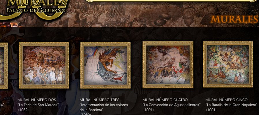 Mural: Aguascalientes en la historia