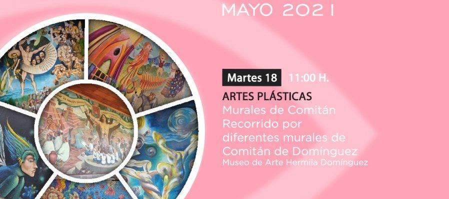 Recorrido por diferentes murales de Comitán de Domínguez