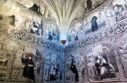 Murales del Ex Convento de San Nicolás de Tolentino en A...