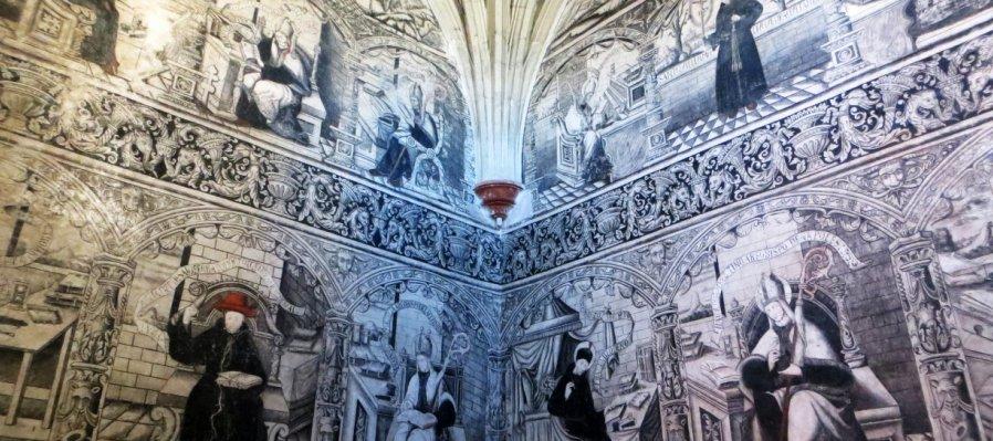 Murales del Ex Convento de San Nicolás de Tolentino en Actopan