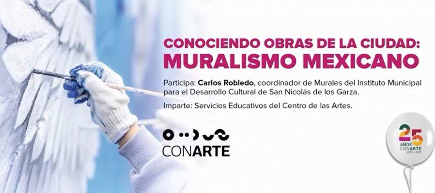 Conociendo obras de la ciudad: Muralismo mexicano