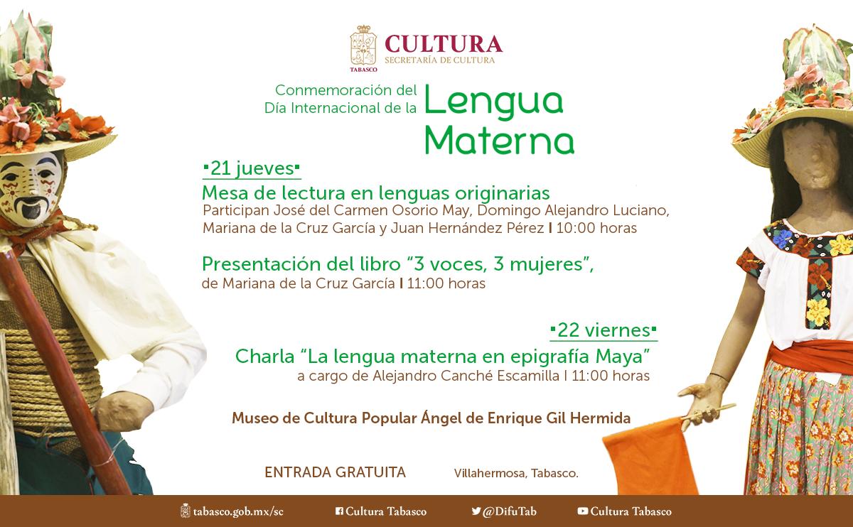 Conmemoración del Día Internacional de la Lengua Matern...