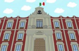 Museo Nacional de las Culturas del Mundo, dibujos animado...