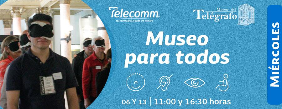 Museo para todos - Diciembre