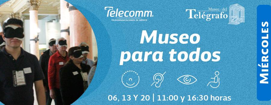 Museo para todos - Septiembre