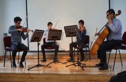 Recital de Música de Cámara de violín y contrabajo de ...