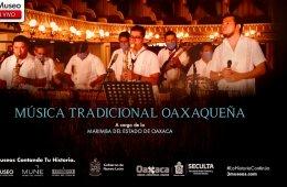 Música tradicional oaxaqueña a cargo de la Marimba del ...